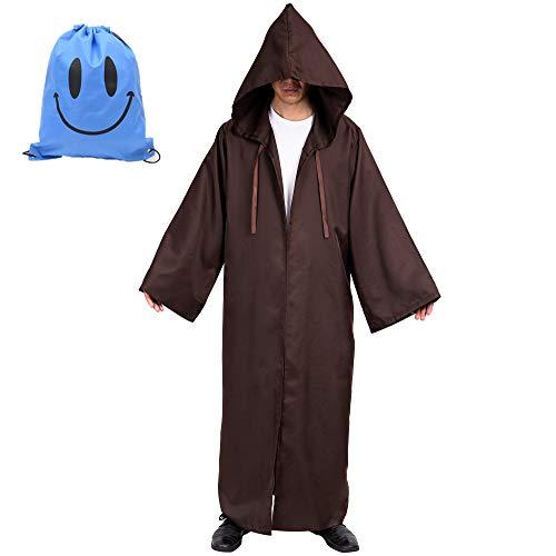 Myir Capa con Capucha de Halloween para Hombre