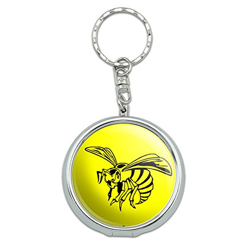 portable-pocket-purse-ashtray-keychain-insects-ladybug-butterfly-dragonfly-bee-wasp-hornet
