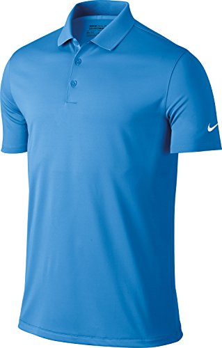 Nike Golf Victory Solid Mens Polo Shirt - 12 Colours / Sml - University Blue - S (Dri-fit Körper Nike Golf)