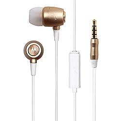 Motorola Metal Headphones (Gold)