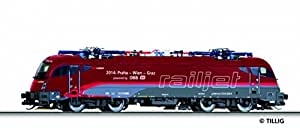 Tillig 04961 TT E-Lok Taurus 1216 229 Railjet 'Spirit of Praha' ÖBB, Epoche VI Maßstab 1:120