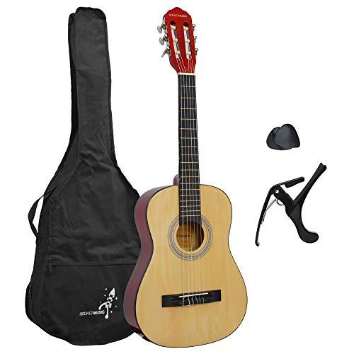 Rocket XF201EN - Paquete básico para guitarra clásica