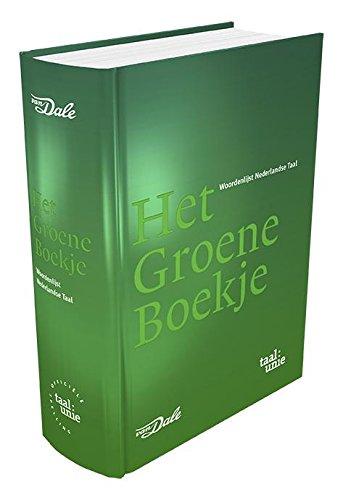 Het Groene Boekje: woordenlijst Nederlandse taal