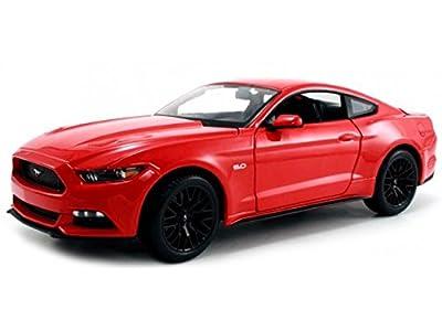 2015 Ford Mustang GT rot, Maisto Auto Modell 1:24 von Maisto