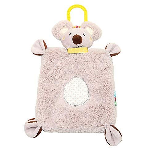 iBaste Multifunktionale Baby-Spielzeug, Koala-Tuch, beruhigend, bequem, Plüschtier-Handtuch, Komfort-Babet