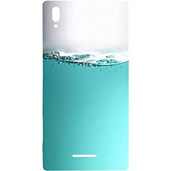 Casotec Half Fill Design Hard Back Case Cover for Sony Xperia T3