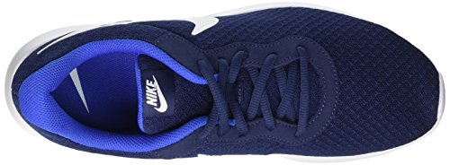 Nike Herren Tanjun Gymnastikschuhe Blau (Midnight Navy Blau/Weiß/Game Royal Blau)