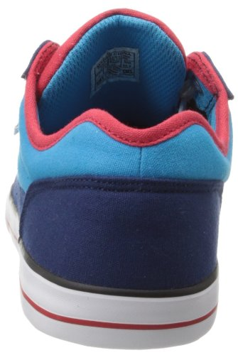 DC BRISTOL CANVAS B AQA 303324 Jungen Sneaker Mehrfarbig (BLUE/RED)