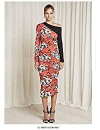 online store d449c 5ef5b Amazon.it: Denny Rose - Rosso / Vestiti / Donna: Abbigliamento