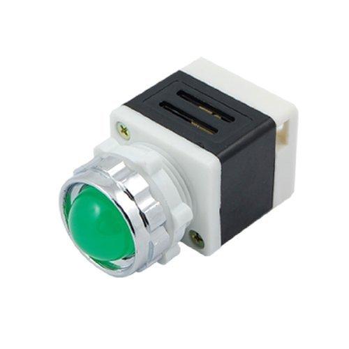 DealMux a10050700ux0271 220V LED-Signalanzeige Pilot Lampe AD11-25 / 40-1G, Green Light