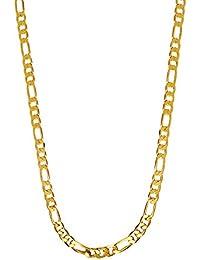 Shining Jewel 24K Gold Plated Sachin Tendulkar Chain for Men