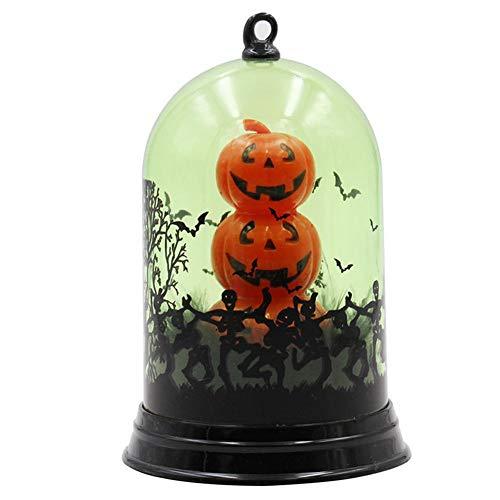 Hallow Deco Halloween-Tischplattendekoration LED Retro Simuliert Flamme Licht,Kerze Licht,Wind Licht für Wohnzimmer, Schlafzimmer, Schaufenster, Bar Dekoration,3 (Neue 2019 Halloween-requisiten)