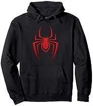 Marvel Spider-Man: Mile Morales Game Spider Icon Felpa con Cappuccio