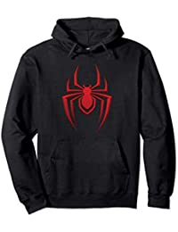 Marvel Spider-Man: Mile Morales Game Spider Icon Sudadera con Capucha