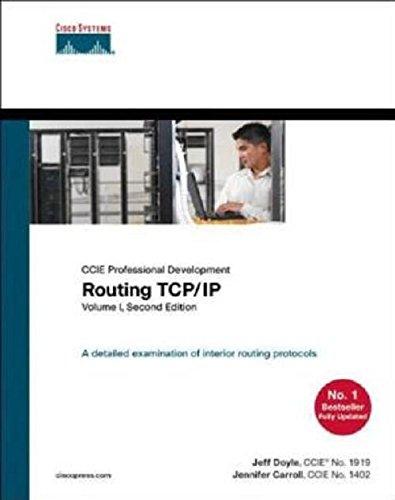 Routing TCP/IP, Volume 1, 2/e (Cisco Press) par Doyle
