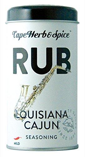 Cape Herb & Spice Rub Louisiana Cajun Rub 100g
