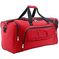 Sols - Week-End - Multi-Pocket Reisetasche , Red , UNIQUE