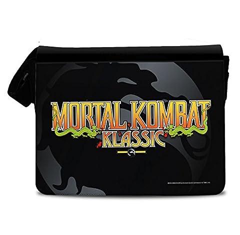 Offizielles Lizenzprodukt Mortal Kombat Klassic Messenger Bag, Umhängetasche