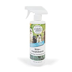 PetSafe Piddle Place Pet Potty Bio+ Turf Treatment, 473 ml, Odour Eliminator, Toilet Trainer 7