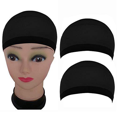Oyedens Perücke 2 Perücke Kopfbedeckung Perücke Schwarzs PerückenkostüM -