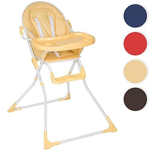 TecTake Kinderhochstuhl Babyhochstuhl klappbar blau
