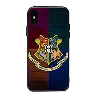 EJC Avenue Harry Potter Extra Strong Hard Glass Shockproof Case/Cover for Apple iPhone X / 10 (5.8