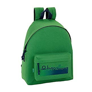 Day Pack Infantil Benetton UCB Green Oficial 330x150x420mm
