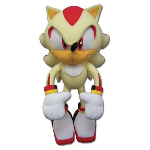 ge-animation-great-eastern-ge-52631-sonic-the-hedgehog-super-shadow-stuffed-plush-12-by-ge-animation