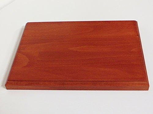 base in legno per modellismo, diorami, collezionismo CM 21 X 28