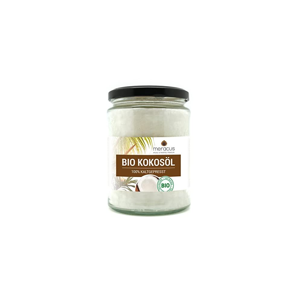 Meracus Bio Kokosl Nativ Im Glas 1er Pack 1 X 500 Ml