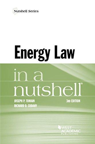 Energy Law in a Nutshell (Nutshells) (English Edition)