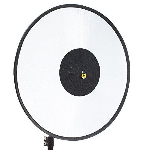 RoundFlash Dish Faltbarer Beauty Dish Softbox Lichtformer für entfesselten Aufsteckblitz 45 cm - ideal für Strobist