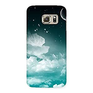NEO WORLD Remarkable Night Sky Back Case Cover for Samsung Galaxy S6 Edge