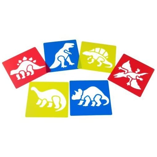 Washable-Plastic-Dinosaur-Stencils-Set-of-6