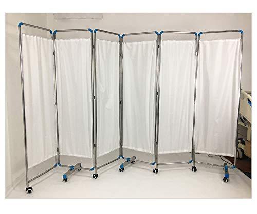 SUN RDPP Medizinischer Sichtschutzvorhang, Weiß,six