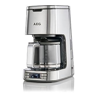 AEG-Kaffeemaschine-PremiumLine-7Series-KF-7800-HighContrast-LCD-Display-Programmierbarer-24h-Timer-15-L-Warmhaltefunktion-Abschaltautomatik-Edelstahl-Zertifiziert-und-Generalberholt