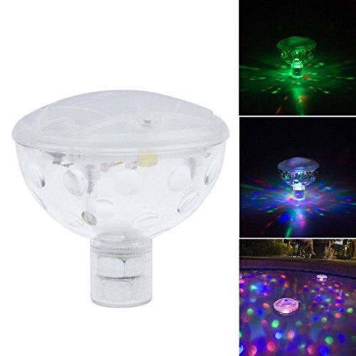 INHDBOX sous-marin AquaGlow Ampoule Disco à LED pour piscine, Spa, baignoire Enfant-Ampoule boule