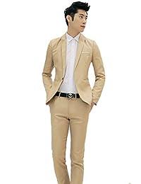 FNKDOR Traje de negocio y ocio de moda Un traje de dos piezas