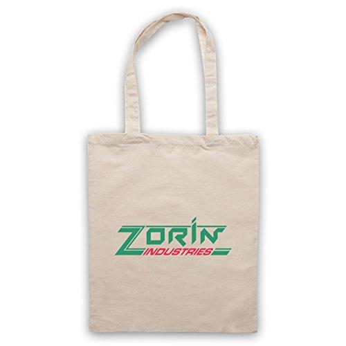 Inspire par James Bond A View To A Kill Zorin Industries Officieux Sac d'emballage Naturel