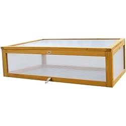 Habau 2855 Frühbeet Aufsatz für Habau Hochbeet, 115 x 53 x 32 cm