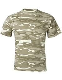 Anvil 939 4.9 oz. 100% Ringspun Cotton T-Shirt - Camouflage Sand - 2XL by Anvil