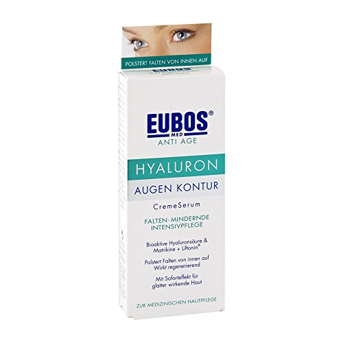 Eubos Sensitive Hyaluron Augenkonturcremeserum, 1er Pack (1 x 15 ml)
