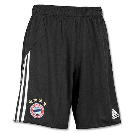 Adidas Performance - Pantaloncini da calcio da uomo, schwarz/weiß