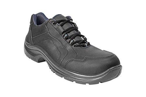 """AWC ECO SAFE """"S2 SRC"""" Sicherheitsschuhe / Sneaker mit Stahlkappe - Schwarz Gr. 45"""