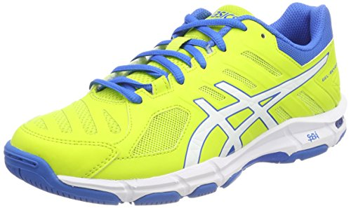 ASICS Gel-Beyond 5, Scarpe Sportive Indoor Uomo, Verde (Energy Green/White/Electric Blue 7701), 42 EU