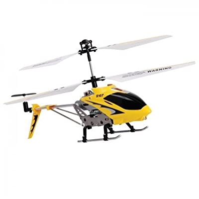 2 X Syma S107 Gyroscope Stabilizing System Aluminium I/R Controlled USB Helicopter- Colours May Vary