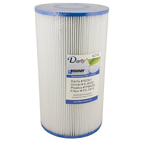 Darlly® Filtre Filtre de rechange sc712 Filtre à lamelles Hot Springs Hydro piscine