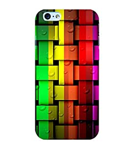 PrintVisa Designs for Paths and Patios Square Texture 3D Hard Polycarbonate Designer Back Case Cover for Apple iPhone 6s Plus :: Apple iPhone 6s+