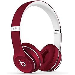 [Inalámbrico] Beats Solo2 - Auriculares de diadema abiertos, color rojo
