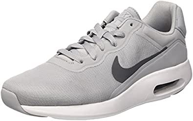 Nike Herren Air Max Modern Essential Turnschuhe Grau  40 EUElfenbein (White/White/Cool Grey/Pure Platinum)